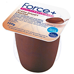 * FORCE+ CHOCOLADESMAAK 6 X 4 X 100 GR