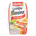 HERTA CROQUE MONSIEUR 6 X 200 GR